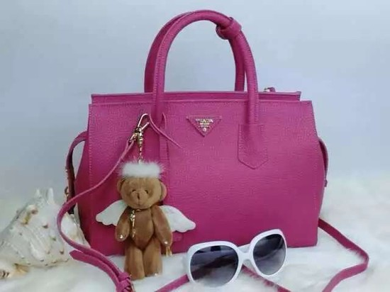 2015 Prada tote bag 2278 rose