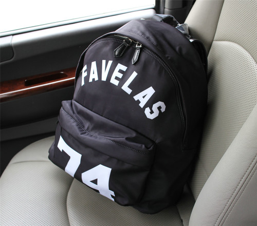 Givenchy nylon fabric backpack 1151-1 black