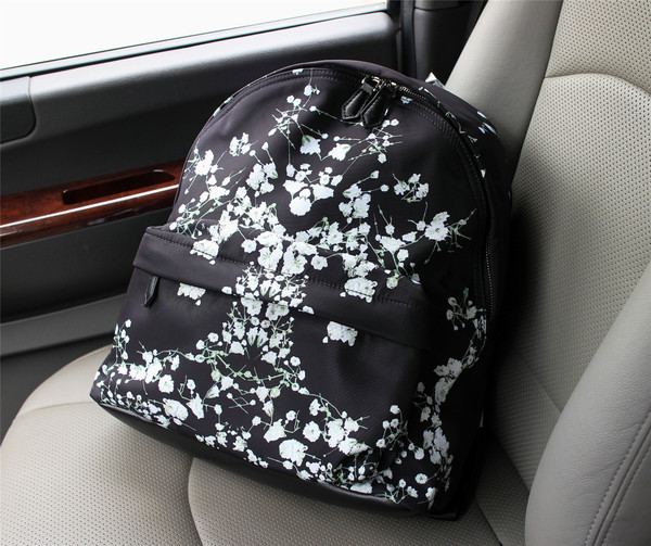 Givenchy nylon fabric backpack 1151-3 black