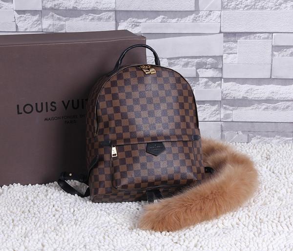 Louis Vuitton Damier Ebene Canvas Michael Onyx Backpack 44188 Coffee