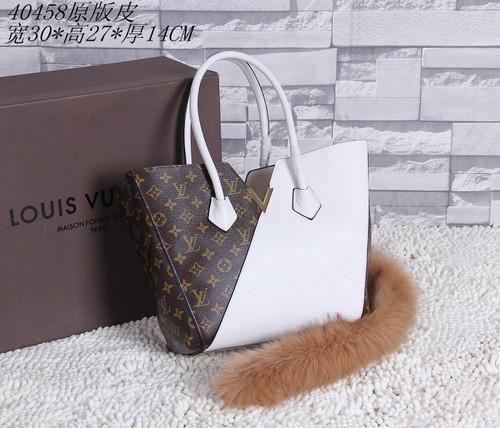Louis Vuitton Monogram Canvas KIMONO Bag 40458 White