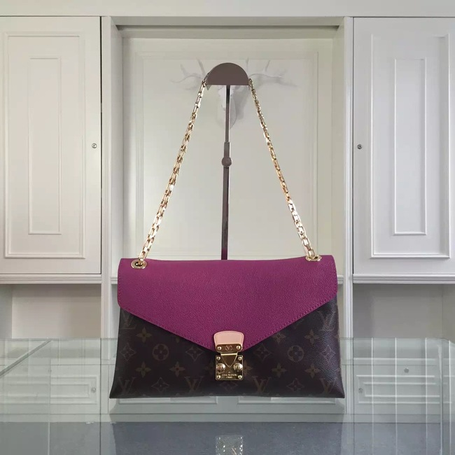 Louis Vuitton Monogram Canvas Pallas Chain 41246 Purple