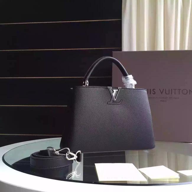 Louis Vuitton Capucines BB Tote Bag 94754 Black