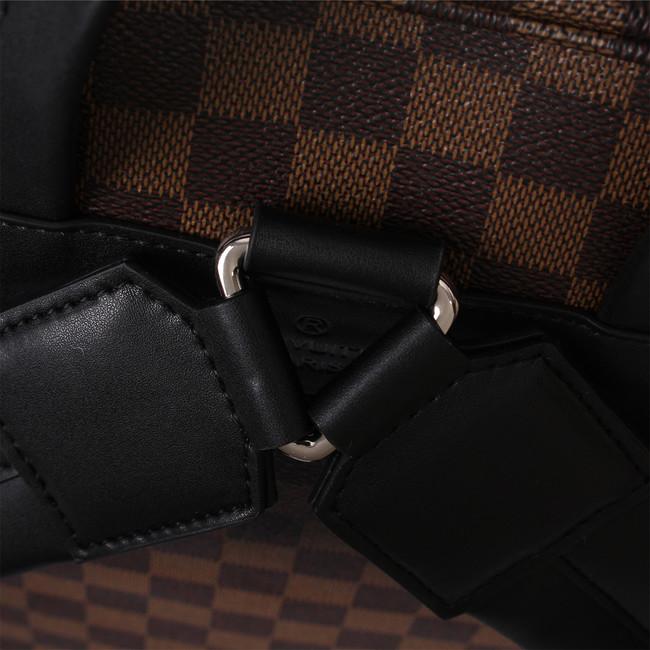 655516eca68 Louis Vuitton Monogram Damier Ebene Graphite Jake Backpack M41558 Coffee