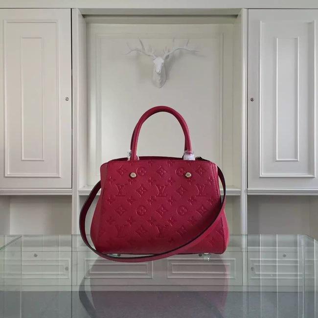 Louis Vuitton Monogram Empreinte Original leather 41061 Burgundy