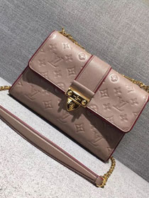 2017 louis vuitton original leather saint sulpice pm M43392 apricot