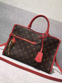 2017 louis vuitton original popincourt pm M43433 red
