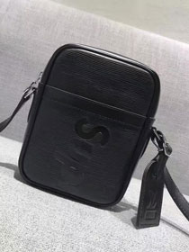 2017 louis vuitton original superme danube gm 51805 black
