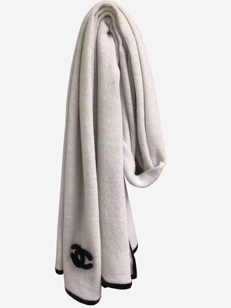 2017 top quality Chanel scarf A2830 white