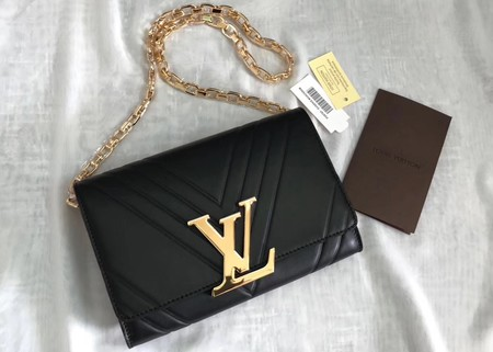 Louis Vuitton Shoulder Bag M54230 Black