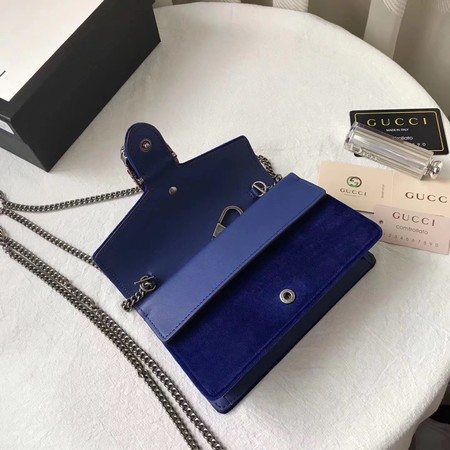 Gucci Dionysus Gg Mini Shoulder Bag 476432 Blue 139 00