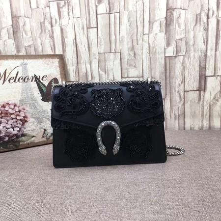 Gucci Dionysus GG Shoulder Bag 403348  black