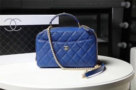 Chanel Flap Tote Bag 91907 blue