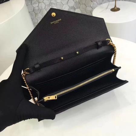 2d3cbc8e4b Yves Saint Laurent WOC Caviar leather Shoulder Bag 1003 black -  199.00