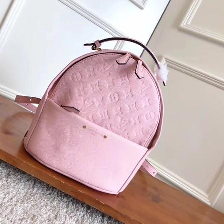 d45370d042f8 Louis Vuitton Original sorbonne backpack monogram empreinte M41561 pink