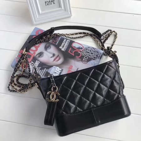Chanel GABRIELLE Shoulder Bag A91810 black