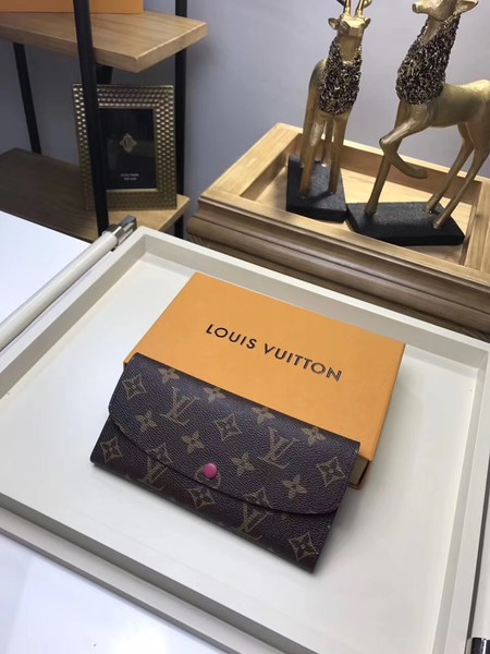 Louis Vuitton Monogram Canvas wallet M61289 rose
