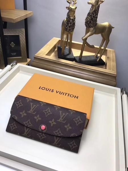Louis Vuitton Monogram Canvas wallet M61289 watermelon red