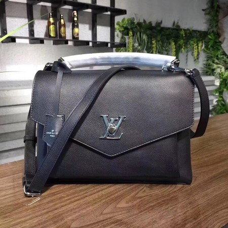louis vuitton original Leather MY LOCKME 54849 black