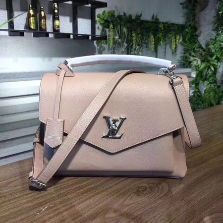 louis vuitton original Leather MY LOCKME 54849 apricot
