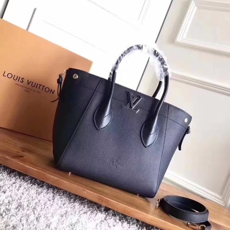 louis vuitton original calfskin Tote Bag freedom M54842 black
