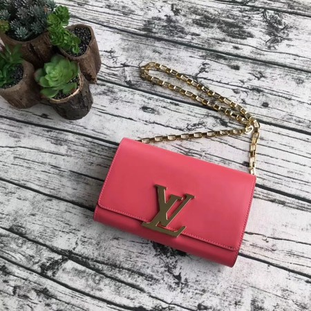 Louis Vuitton CHAIN LOUISE Original leather Shoulder Bag M94335 pink