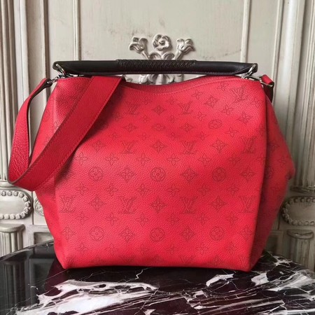 Louis Vuitton original Mahina Leather BABYLONE M50031 red