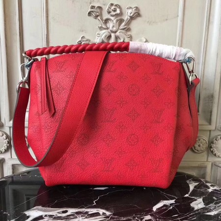 Louis Vuitton original Mahina Leather BABYLONE 51223 red