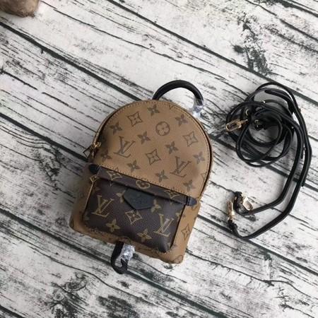 Louis Vuitton Monogram Canvas Palm Springs Backpack Mini 42411