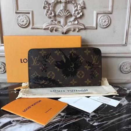 Louis vuitton monogram canvas zippy wallet B60017