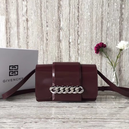 Givenchy INFINITY Shoulder Bag Calfskin Leather 06631 Burgundy