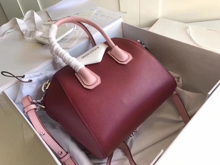 Givenchy Antigona Calfskin Leather tote bag 33256 Wine