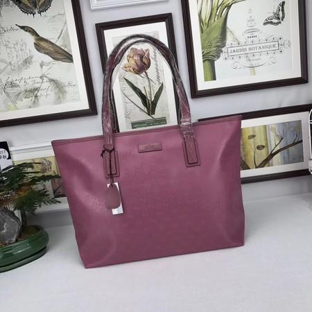 Gucci GG Supreme Canvas Tote Bags 211137 rose
