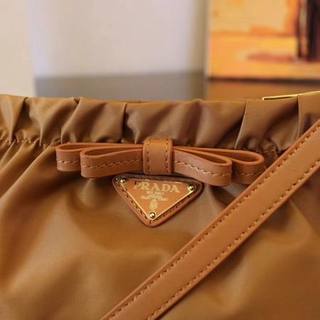 5fe4a2c8d4 Prada Nylon cloth casual bag BN2043 apricot -  199.00