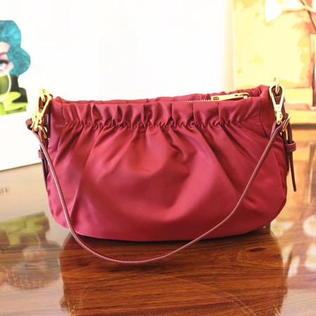 ac112bf36c Prada Nylon cloth casual bag BN2043 red -  199.00