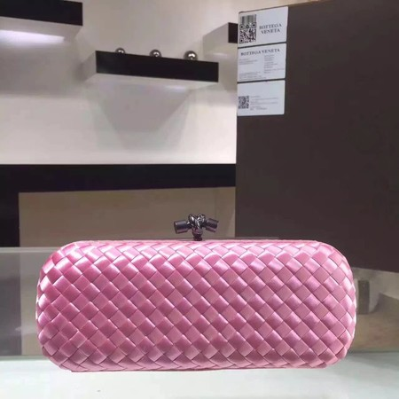 Bottega Veneta Japanese Silk ribbon Clutch 0313 pink