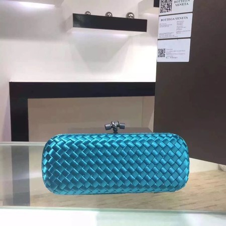 Bottega Veneta Japanese Silk ribbon Clutch 0313 Blue