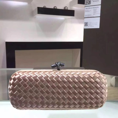 Bottega Veneta Japanese Silk ribbon Clutch 0313 apricot