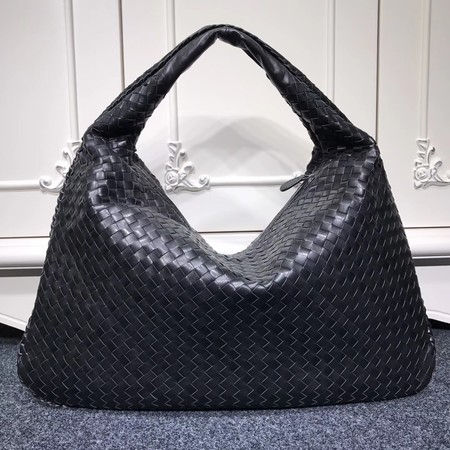 Bottega Veneta Calf leather Hobo Bag 5092 black