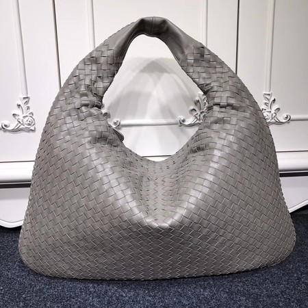 Bottega Veneta Calf leather Hobo Bag 5092 grey