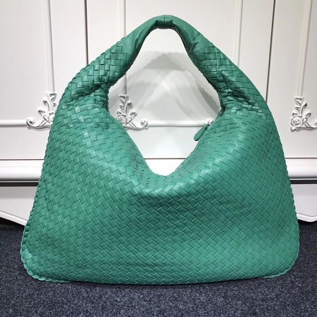 Bottega Veneta Calf leather Hobo Bag 5092 green