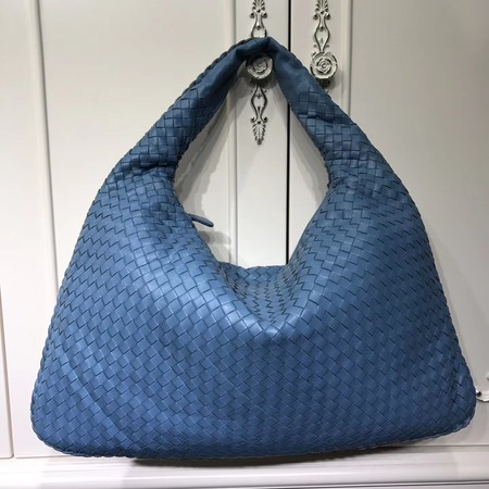 Bottega Veneta Calf leather Hobo Bag 5092 blue