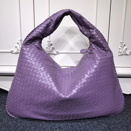 Bottega Veneta Calf leather Hobo Bag 5092 purple