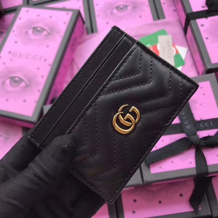 Gucci GG marmont Card package 443127 black