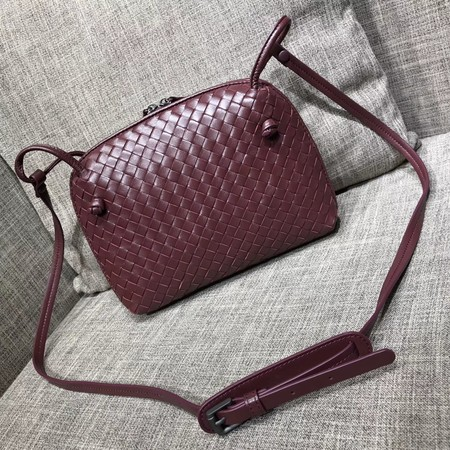 Bottega Veneta Sheepskin Shoulder Bag BV1142 wine