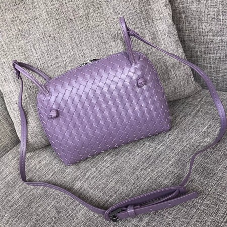 Bottega Veneta Sheepskin Shoulder Bag BV1142 Lilac