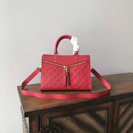 Louis Vuitton Monogram Empreinte Tote Bag M54195 red