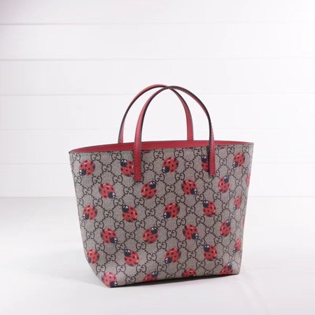 Gucci GG new fabric tote bag 410812 red