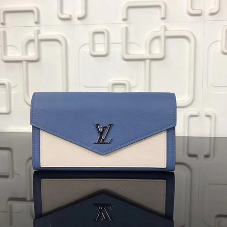 Louis vuitton Original cowhide wallet M62544 blue