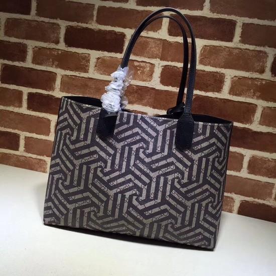 e64acc2f29c Gucci fashion Reversible GG Leather shopping bag 368568 black